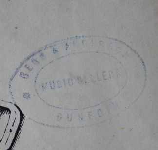 Begg & Anderson stamp
