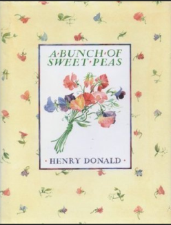A bunch of sweet peas - book cover